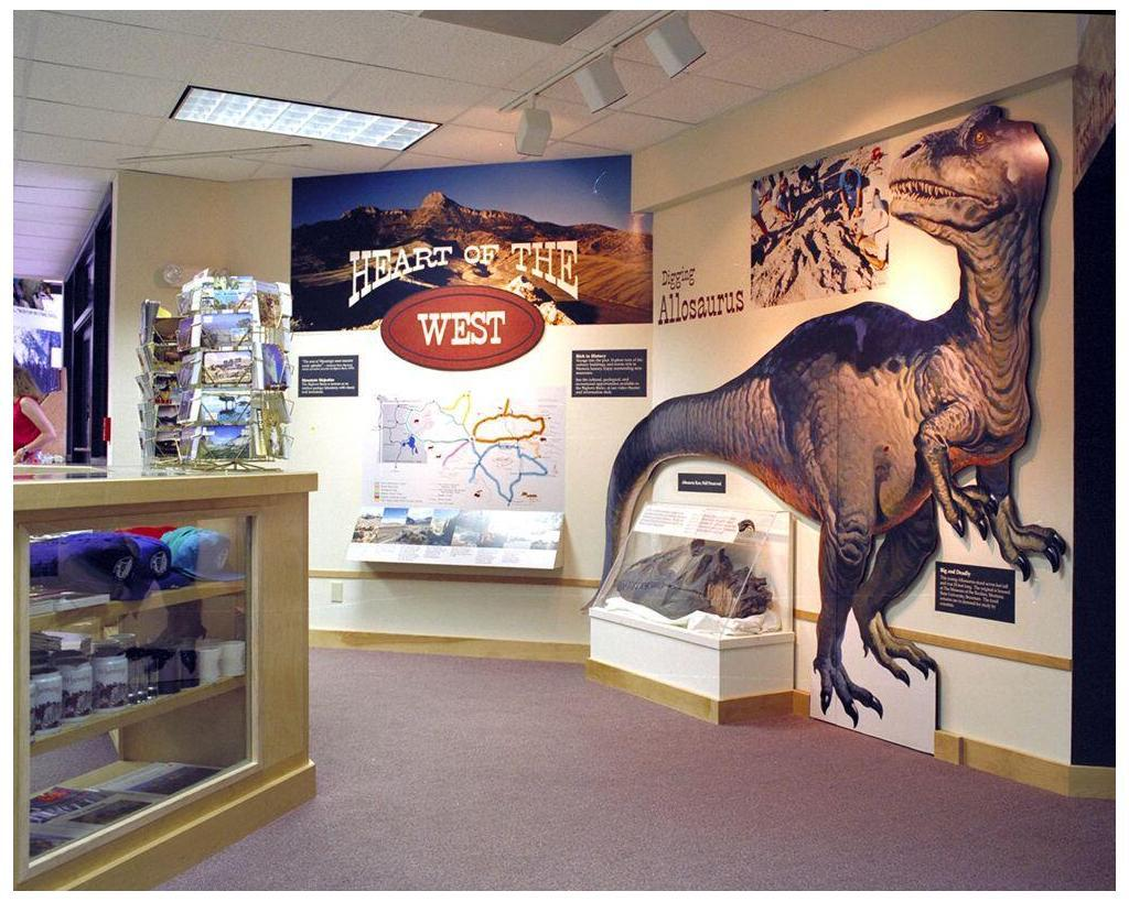 Cody Visitor Center, Cody WY