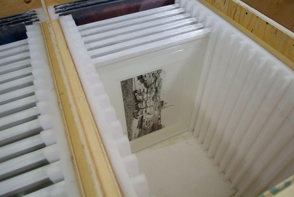 Shipping & Crating - Fine Art Printing 800-999-8084