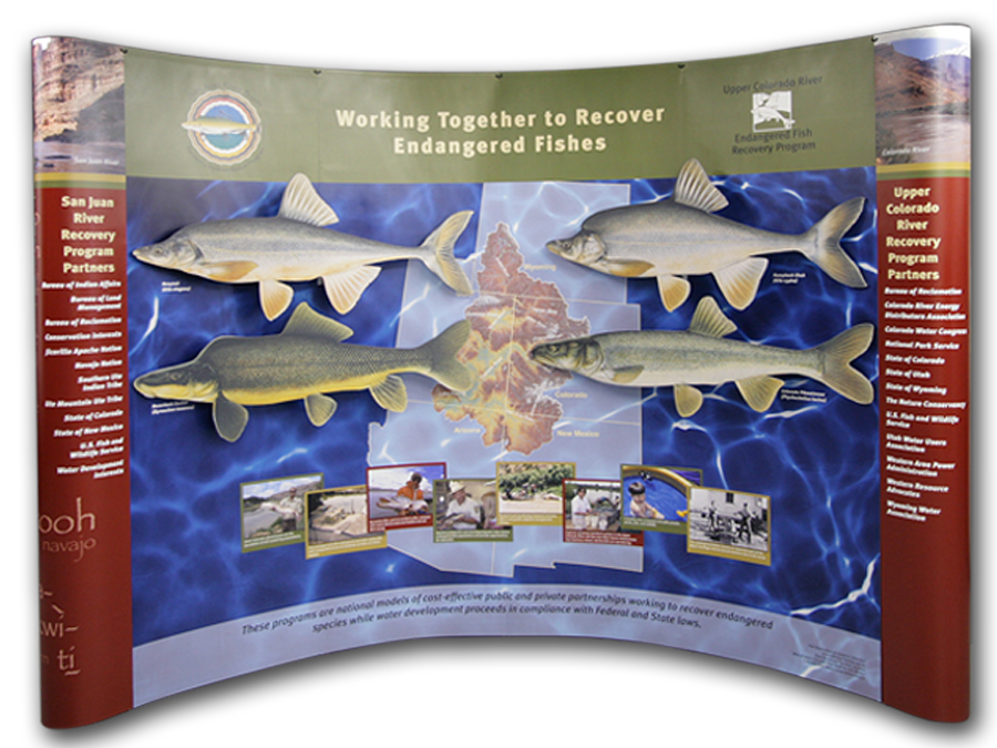 Upper Colorado Fish Recovery Exhibit Graphics