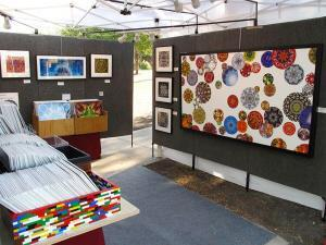 ProPanel Rental Booth at Art Festival