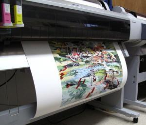 giclee printing on epson 9600