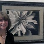 Wendi Schnieder with my favorite piece: :Dalia with Bee""