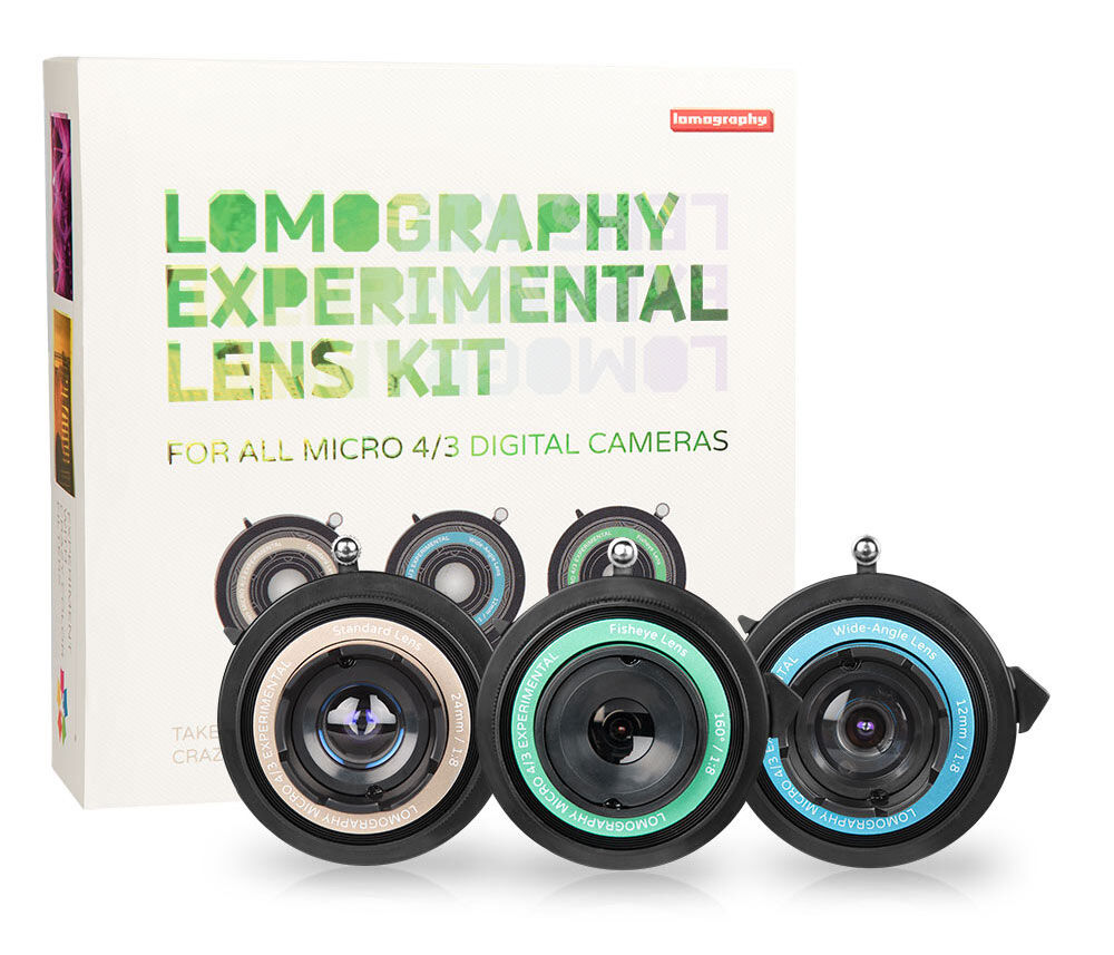 Lomography Introduces an Experimental Lens Kit for Digital Cameras